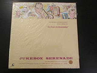 vinyl 4 disk set: YEARS TO REMEMBER (LONGINES) JUKEBOX SERENADE... including 3 disks of Thirties music and one disk of the Andrews Sisters....
