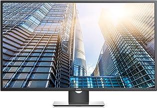 """Dell 43"""" P4317Q Ultra HD 4k Multi Client Monitor, Black/Silver"""