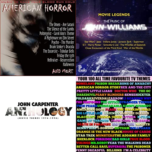 Bandas sonoras de pelis de miedo de The London Film Score ...
