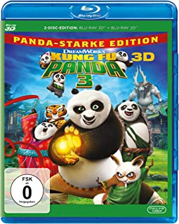 Kung Fu Panda 3   3D Blu-ray + Bluray   Arabic & English