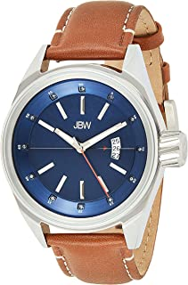 Rook Men's Wristwatch Leather Quartz Analog XL JBW - J6287F