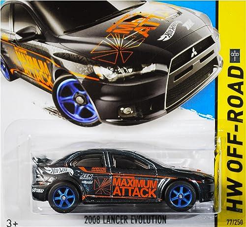 2015 Hot Wheels Super Treasure Hunt Hw Off-Road 2008 Mitsubishi Lancer Evolution by Hot Wheels