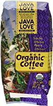 Organic Coffee Co - Organic Whole Bean Coffee, Java Love 12 Ounce