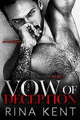 Vow of Deception: A Dark Marriage Mafia Romance (Deception Trilogy Book 1) Kindle Edition