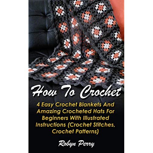 Easy Crochet Blankets Amazoncom