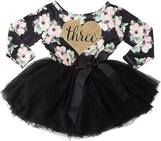 Grace & Lucille 3rd Birthday Dress (Long Sleeve)