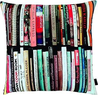 Apelt Libri_45x45_50 - Cojín, diseño de Libros, Multicolor