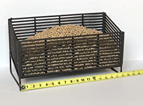 Large Pellet Basket, Heating Source Using Wood Pellets in Your Wood Stove or Fireplace