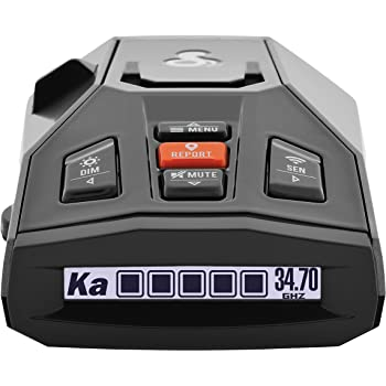 Cobra iRad Laser Radar Detector – iRadar App, RAD450 Technology with Bluetooth, Real Time Alerts, Extreme Long Range Protection, Fewer False Alerts, Voice Alerts, iPhone/Android