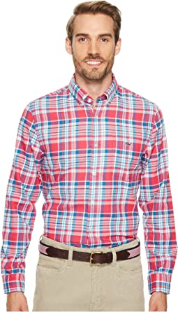 Vineyard Vines - Middleton Place Performance Plaid Flannel Tucker Shirt