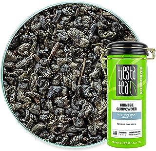 Tiesta Tea - Chinese Gunpowder, Loose Leaf Traditional Smoky Green Tea, Medium Caffeine, Hot & Ice Tea, 5 oz Tin - 50 Cup...