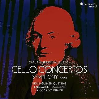 C.P.E. バッハ : チェロ協奏曲集 / ジャン=ギアン・ケラス | リッカルド・ミナージ | アンサンブル・レゾナンツ (C.P.E.Bach : Cello Concertos / Jean-Guihen Queyras | Ensem...