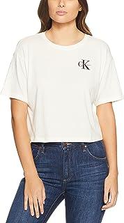 CALVIN KLEIN Women's Reissue Logo Cropped Tee