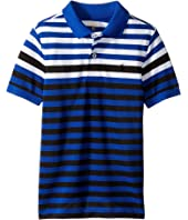 Polo Ralph Lauren Kids - Yarn-Dyed Tech Mesh Short Sleeve Polo (Little Kids/Big Kids)