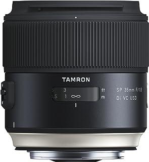 Tamron SP - Objetivo para Canon DSLR (Distancia Focal Fija 35mm Apertura f/1.8 Di VC USD diámetro Filtro: 67 mm) Negro