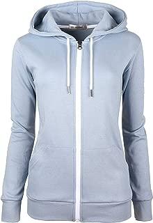 DELight Women's Active Regular Fit Zip up Hoodie