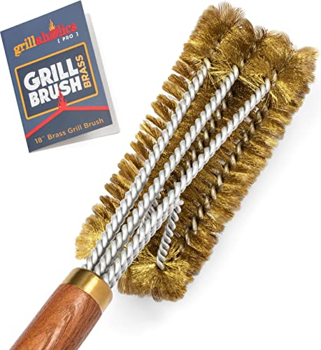 Grillaholics-Pro-Brass-Grill-Brush