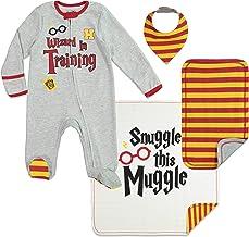 Harry Potter Baby Layette Gift Set Footies Blanket Bib & Burp Cloth