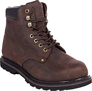 """EVER BOOTS """"Tank S"""" Men's Steel Toe Industrial Construction Safety Work Boot"""
