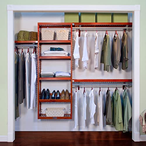Wood Closet Organizer: Amazon com