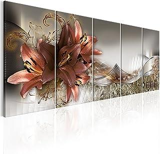 murando Quadro Fiori 150x60 cm Stampa su tela in TNT XXL Immagini moderni Murale Fotografia Grafica Decorazione da parete ...