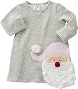Mud Pie - Glitter Santa Dress (Infant/Toddler)