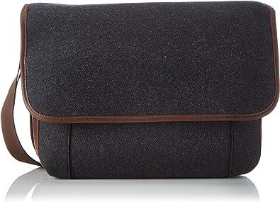 Haflinger Business-Bag 699936 Damen Umhängetaschen 41x37x10 cm (B x H x T), Grau (77 Graphit 77)