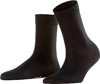 Falke Women's Cotton Touch W SO, Black (Black 3009), US 8-10.5 (size: 39-42)