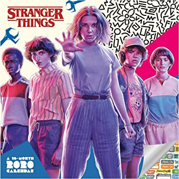 Stranger Things Calendar 2020 Set - Deluxe 2020 Stranger Things Wall Calendar with Over 100 Calendar Stickers (Stranger Things Gifts, Office Supplies)