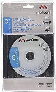 MELICONI – CD LENS CLEANER – Disque nettoyant pour les lentilles laser lecteur CD