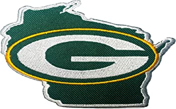Green Bay Packers NFL Sport Patch Logo Embroidery Iron,Sew on Clothes Size 3.15