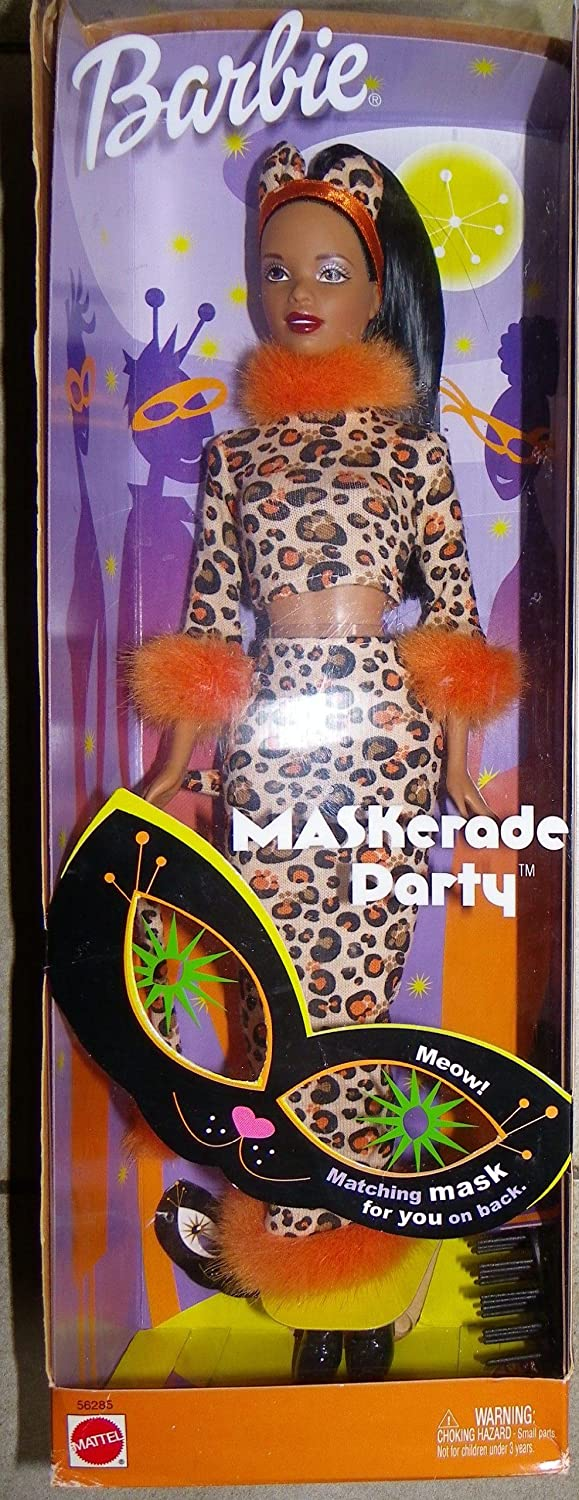 African American Maskerade Party Barbie by Barbie