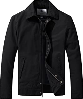Men's Work Wear Casual Military Lapel Jacket (Regular & Big-Tall Sizes)