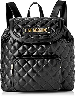 85f0015568 Love Moschino Quilted Nappa Pu Borsa a zainetto Donna, 15x10x15 cm (W x H