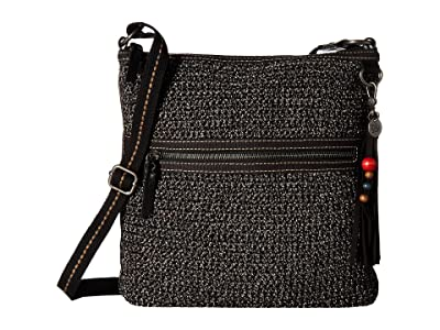 The Sak Lucia Crochet Crossbody (Urban Static) Cross Body Handbags