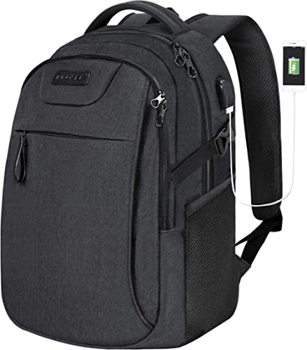 KROSER Laptop Backpack for 15.6 Inch Travel Business Computer Backpack with USB Charging Port Water-Repellent College...