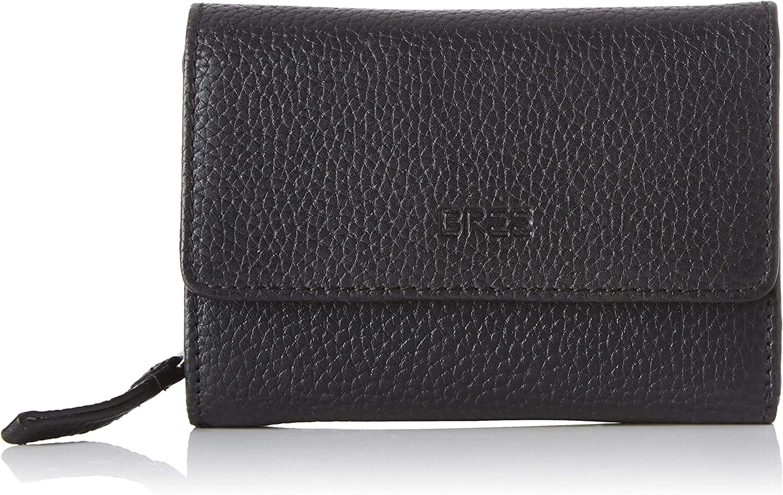 BREE Collection Liv New 108, Black, Zipped Combi. Purse, Women's Wallet, 3x9.5x13 cm (B x H T)