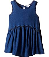 Splendid Littles - Indigo w/ Lace Trim Swing Top (Little Kids)