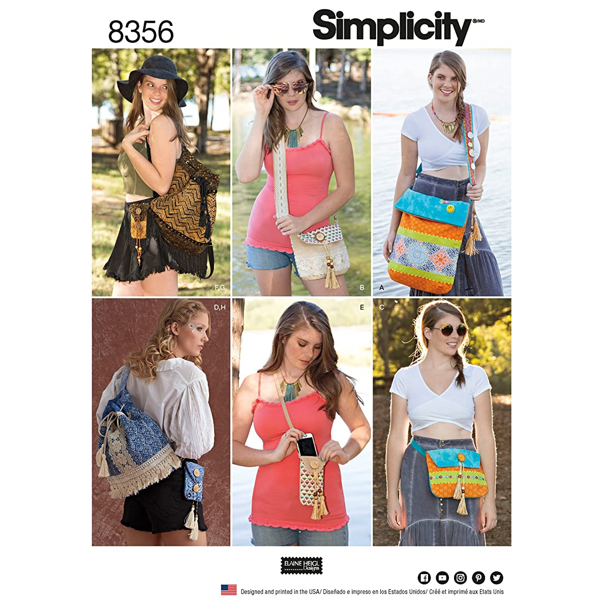 Simplicity Creative Patterns US8356OS Sewing Pattern Accessories