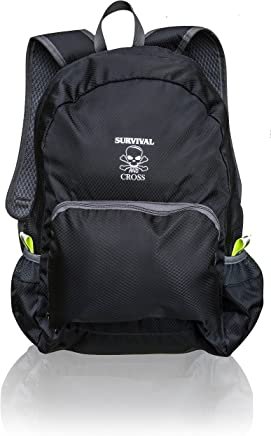 5ee0b5a8e4a4 Survival and Cross Backpack Ultra Lightweight 20L Hiking Travel - Most  Durable for Men and Women