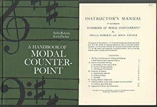 Handbook of Modal Counterpoint