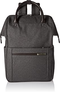 Kinzie Street, Framed Wide-Mouth Backpack, Grey