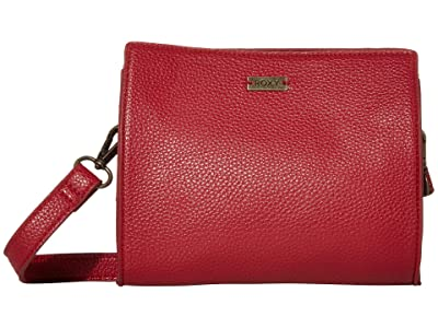 Roxy Stand For The Sun Crossbody Bag (Deep Claret) Handbags