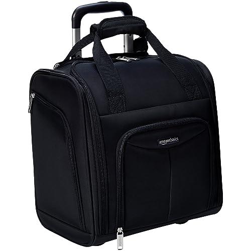 1dd1b4f30 AmazonBasics Underseat Luggage, Black