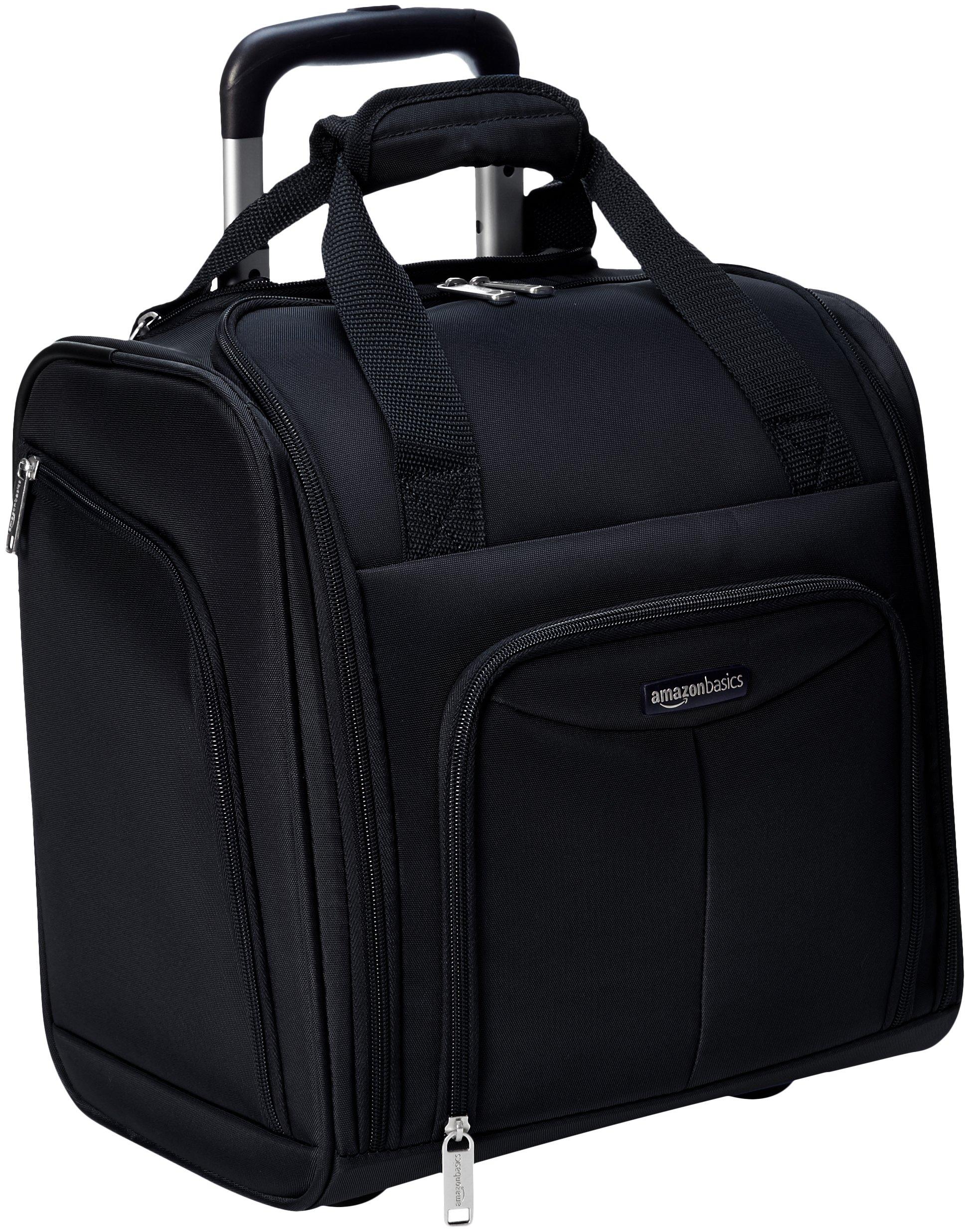 AmazonBasics Amazon161214 Underseat Luggage Black