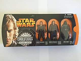 Star Wars: Episode III: Revenge of the Sith Evolutions: Anakin Skywalker to Darth Vader Action Figure Multi-Pack