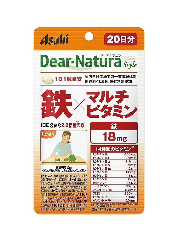 子供っぽい役職怖がらせるディアナチュラスタイル 鉄×マルチビタミン 20粒 (20日分)