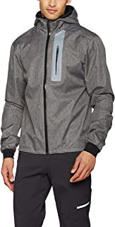 Craft Mens Ride Commuter Bike and Cycling Windproof and Waterproof Reflective Rain Jacket