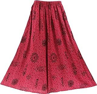 Boho Palazzo Wide Leg Pants Trouser Plus Size 1X to 3X