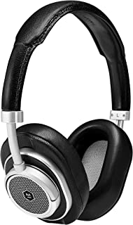 Master & Dynamic MW50+ Bluetooth 2-in-1 Wireless Headphones with 40 mm Beryllium Driver for High Sound, Silver/Black (MW50S1+)